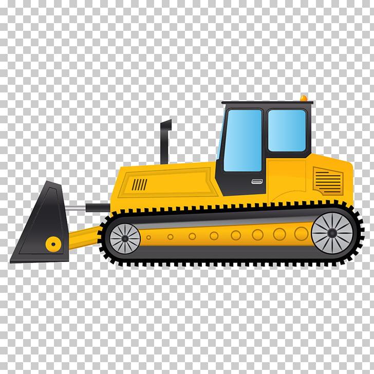Bulldozer , Bulldozer PNG clipart.