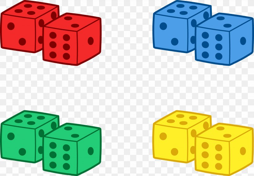 Dice Bunco Game Clip Art, PNG, 5896x4089px, Dice, Board Game.