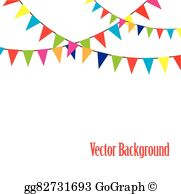 Bunting Flag Clip Art.