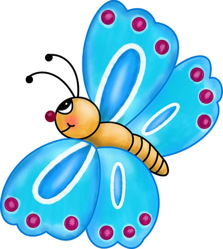 Free clipart butterfly 2 » Clipart Station.