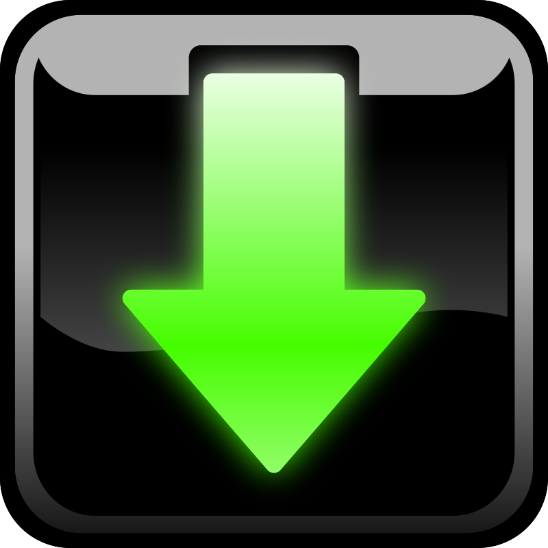 Free Clipart: Download button.