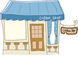 Cafe Clipart Csp Vector Eps Icon.