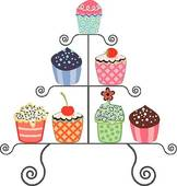 Cake Stand Clip Art.