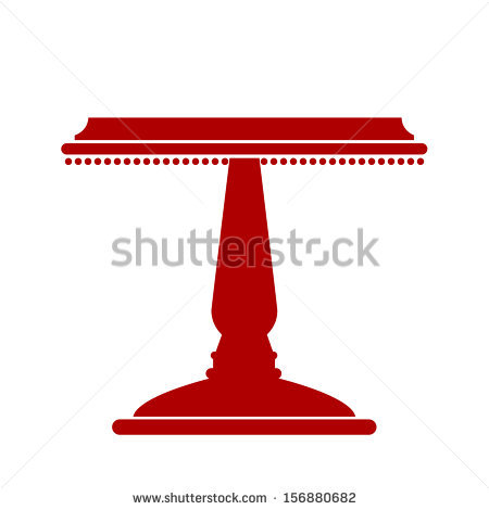 Cake Stand Stock Images, Royalty.
