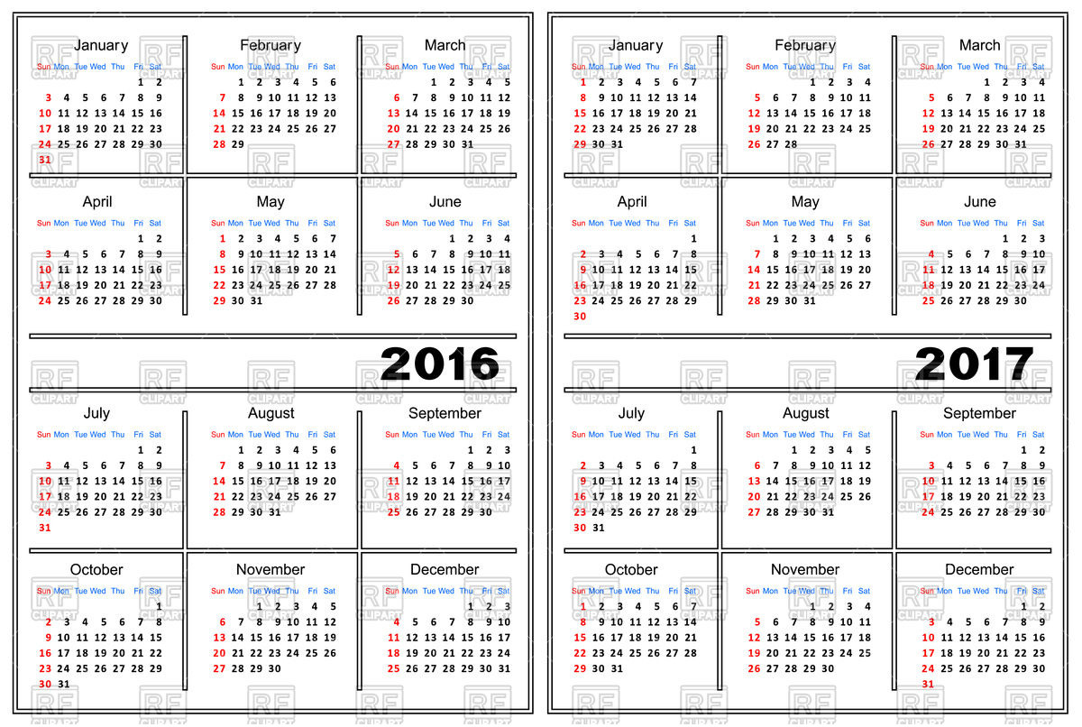 K12 calendar 2016 2017 28 Collection of Free Clipart 2017.