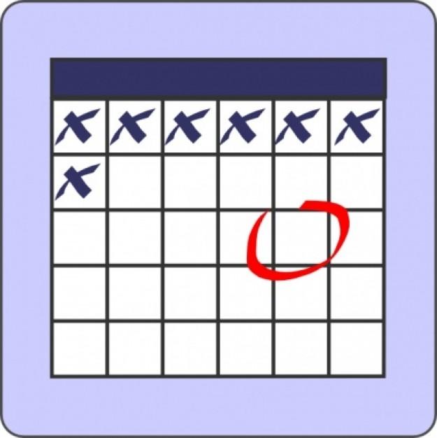 Free Clipart Calendars.