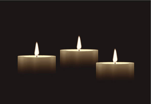 Best Candlelight Vigil Illustrations, Royalty.