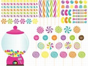 Candyland Clip Art Free.