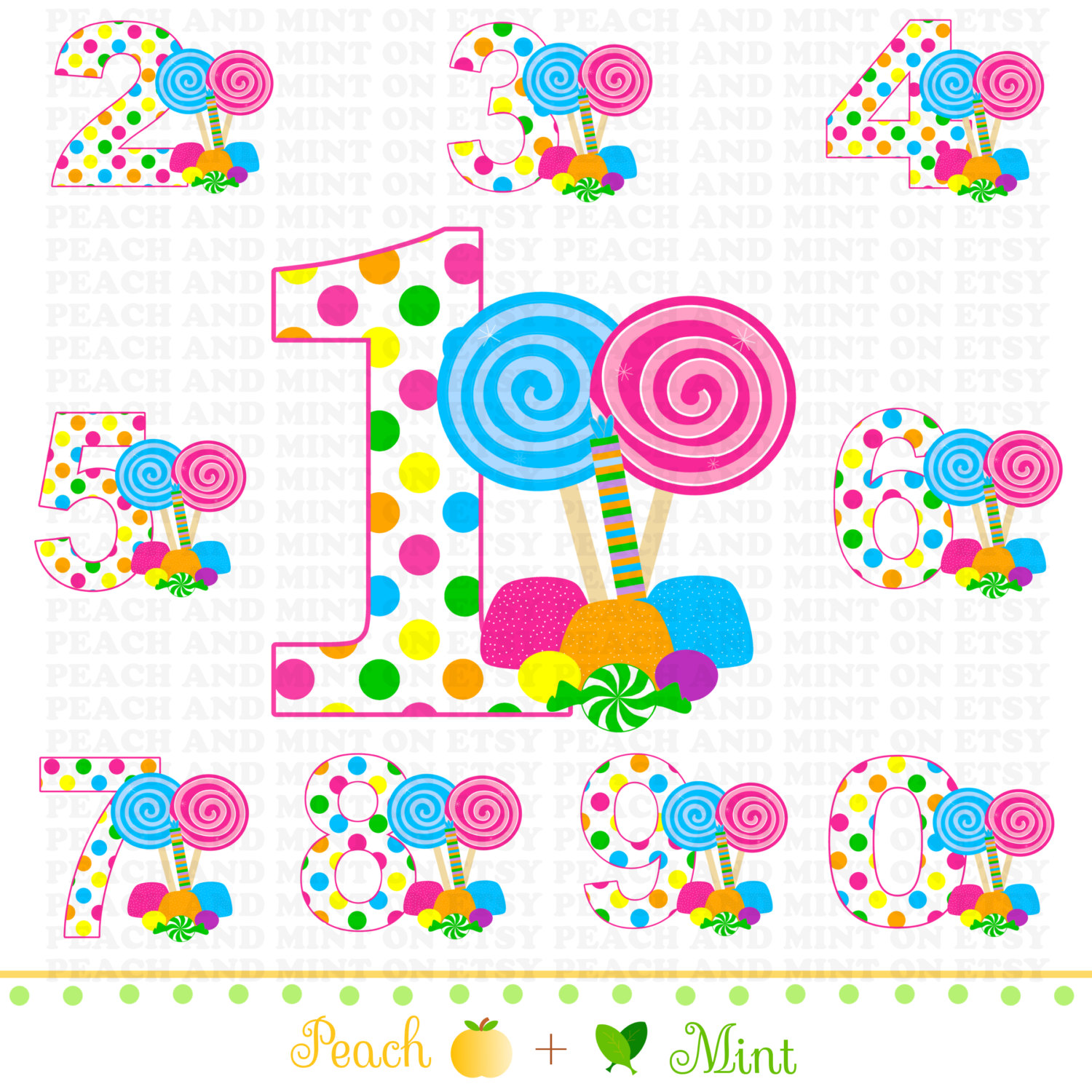 Candyland Clipart Free.