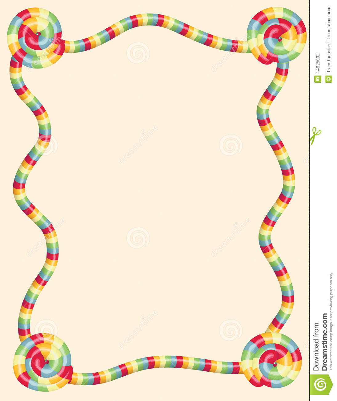Free Clipart Candyland Game.