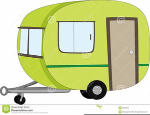 Cartoon Caravan Clipart.