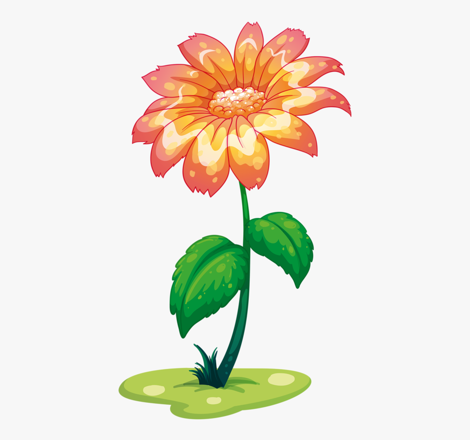 Giant Flowers, Flower Clipart, Cartoon Flowers, Daisy,.