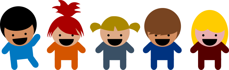 Free Clipart: Cartoon Kids.