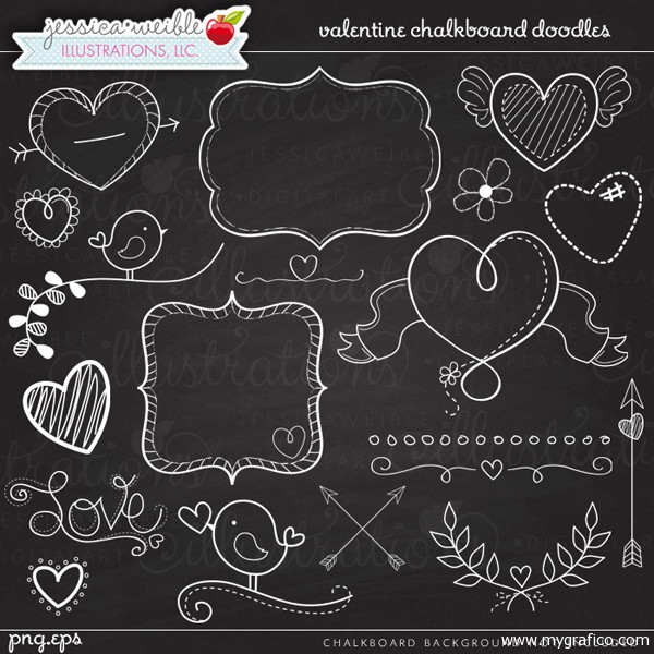 Free chalkboard clip art.