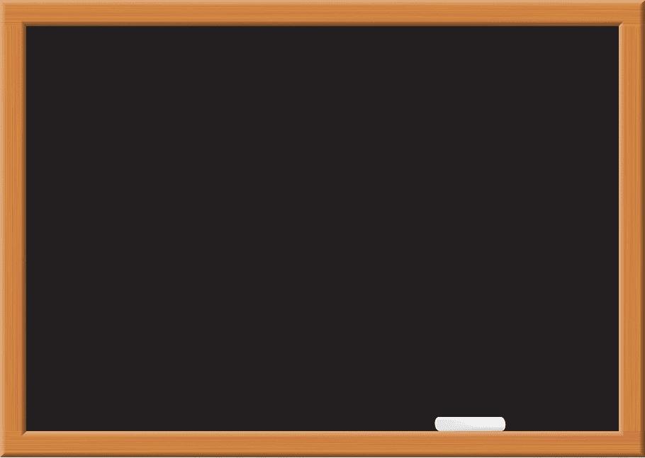 Black chalk board illustration, Multimedia Text frame.