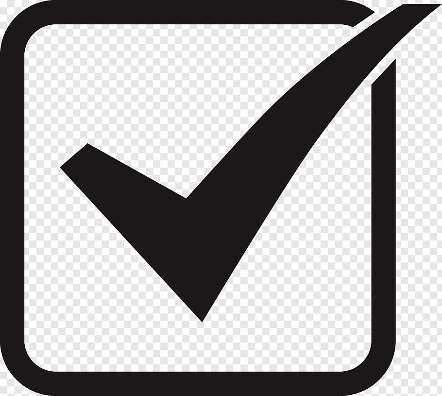 Checkbox icon, Checkbox Button, tick box free png.