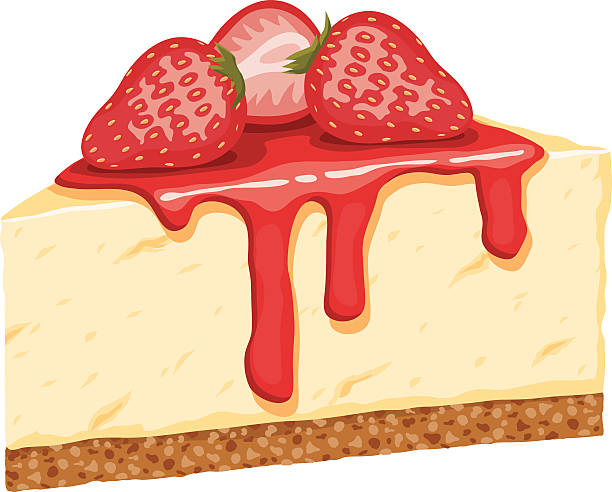 Strawberry Cheesecake Clipart.