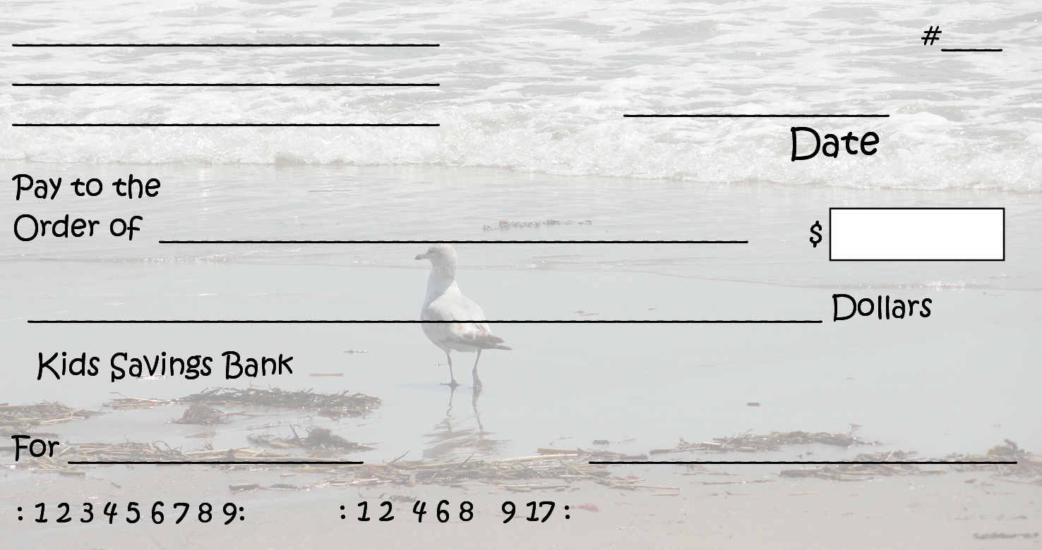Free Clipart N Images: Printable Pretend Checks For Kids.