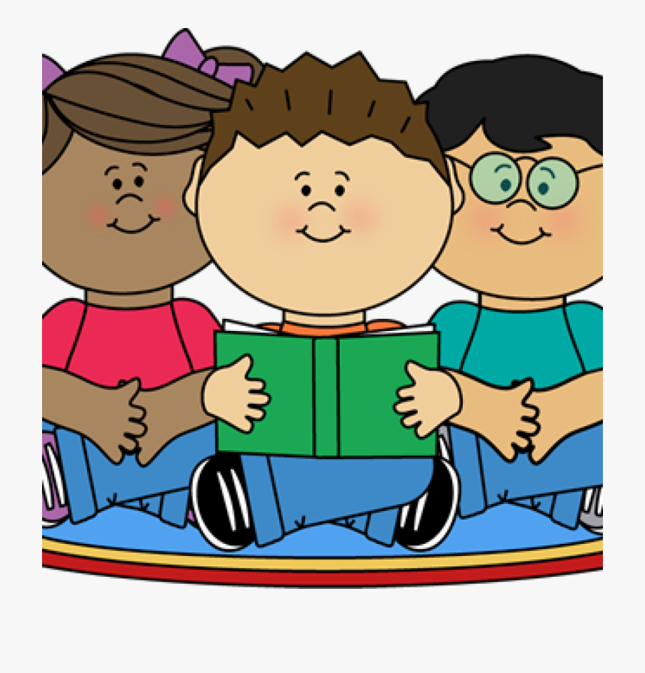 Png Stock Students Reading Clipart.