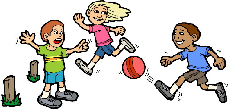 Clipart Children Playing.