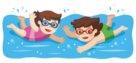 3,812 Kids Pool Cliparts, Stock Vector And Royalty Free Kids Pool.