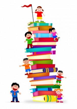 Free Children's Book Clipart Image.