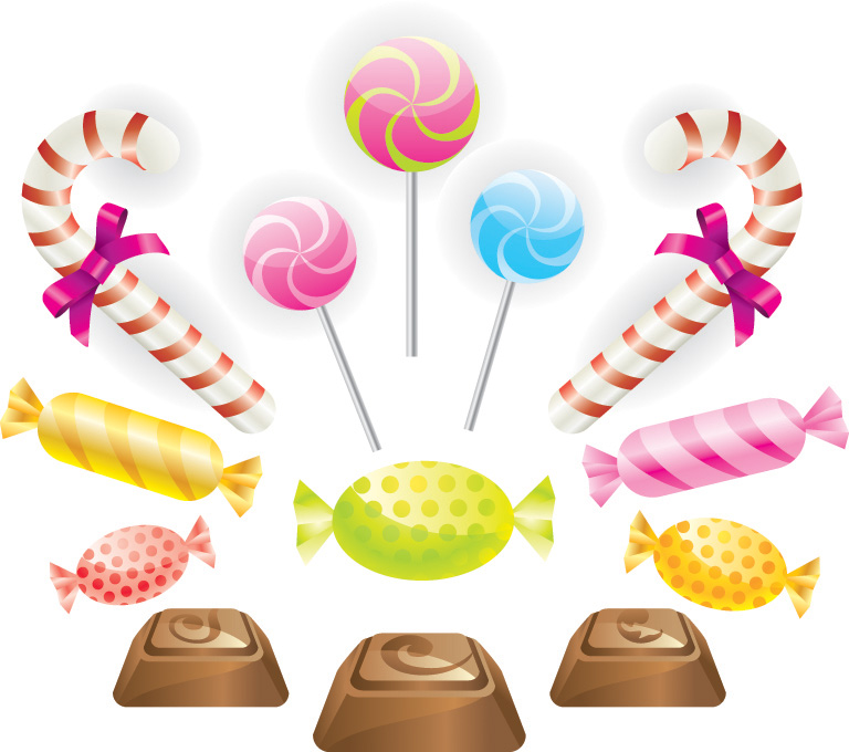 Free chocolate candy clipart.