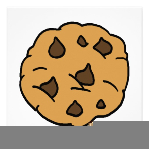 Free Clipart Chocolate Chip Cookie.