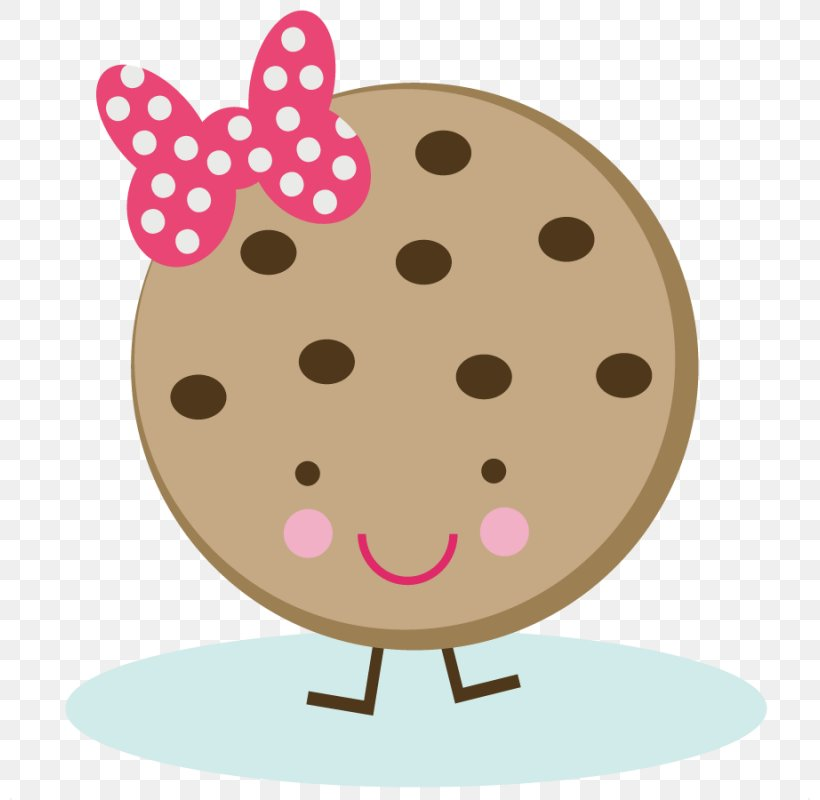 Chocolate Chip Cookie Biscuits Clip Art, PNG, 800x800px.