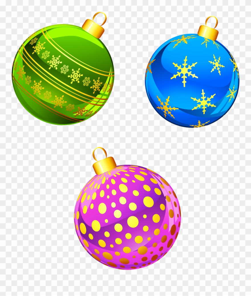 Christmas Tree Clipart Transparent Free Christmas Ornaments.