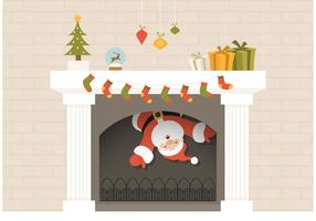 Fireplace Free Vector Art.