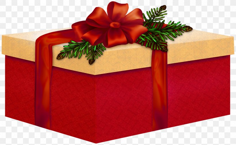 Christmas Gift, PNG, 2400x1478px, Christmas, Birthday, Box.