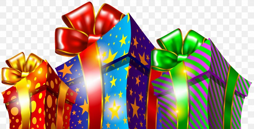 Christmas Gift Boxes Clipart, PNG, 3132x1596px, Christmas.