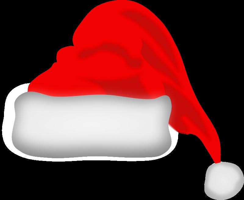 Free Clipart: Santa Claus hat.