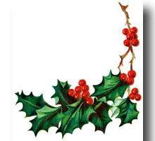 Free clipart christmas holly borders » Clipart Portal.