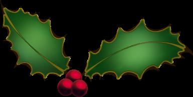Free Christmas Clip Art Holly.