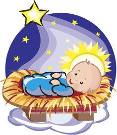 Free Clipart Christmas Baby Jesus.