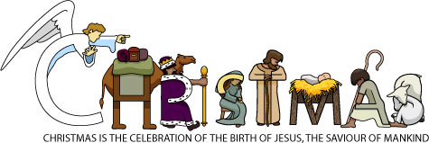 Free Religuous Clipart Of Jesus Birth.