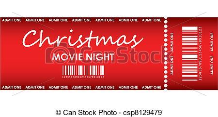 Movie night Vector Clipart Royalty Free. 1,397 Movie night clip.