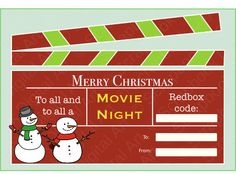 Christmas Movies Clipart.