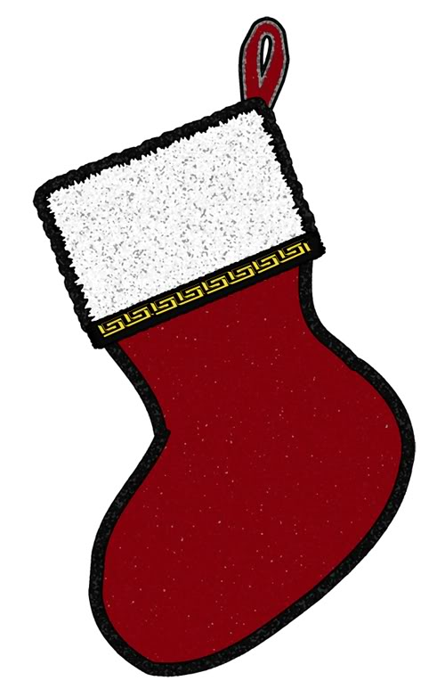 Free Christmas Stocking Clipart.