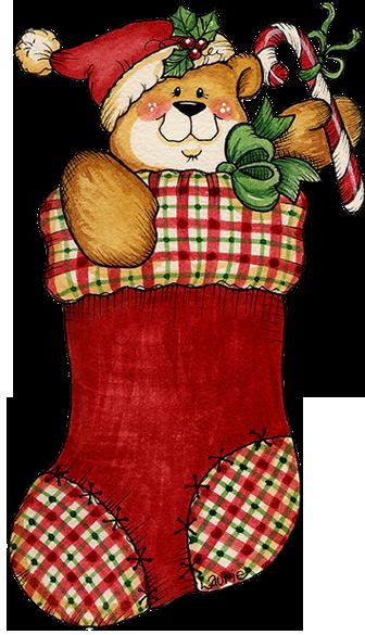 Christmas Stocking Image.