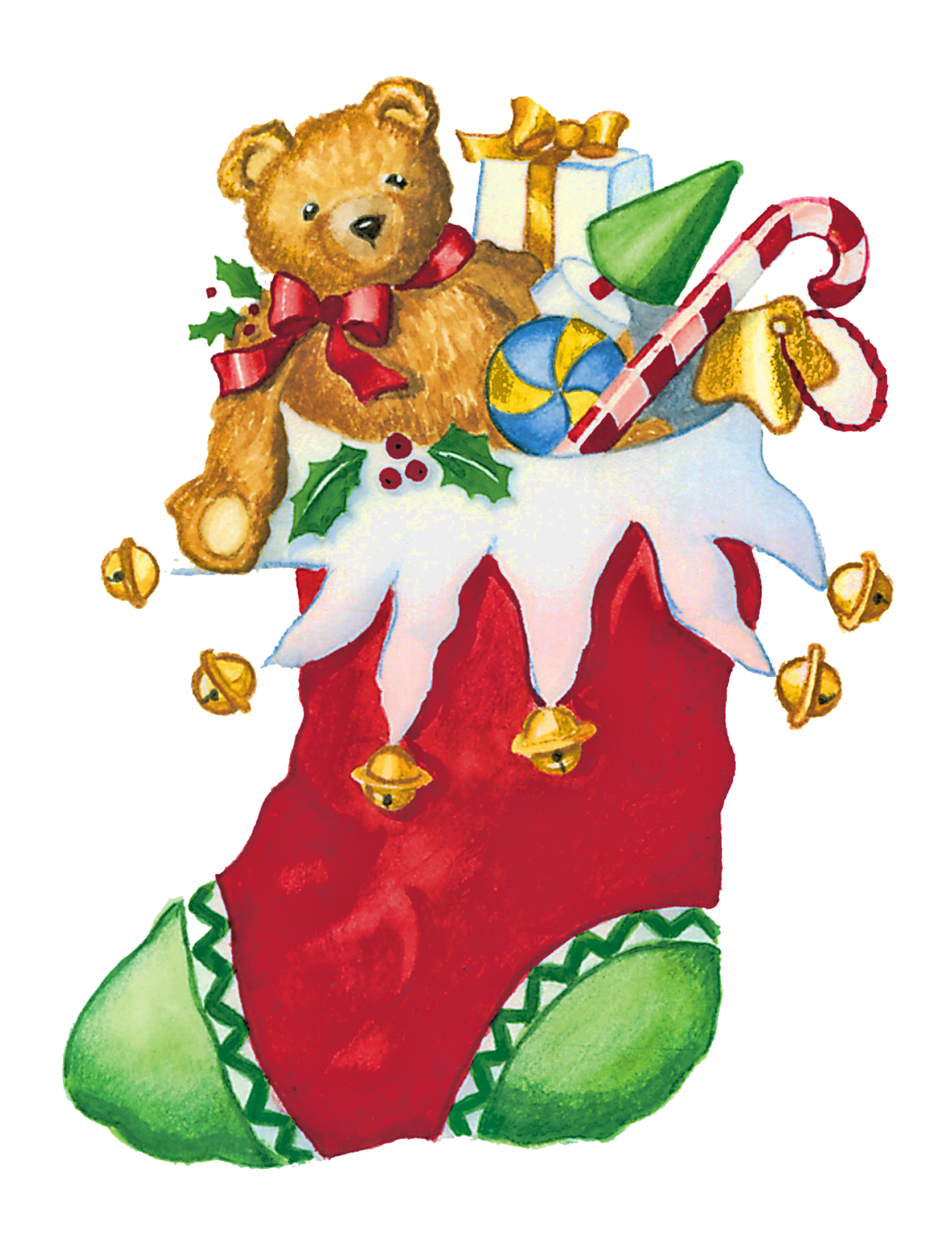 Christmas Toys Clip Art Free free image.