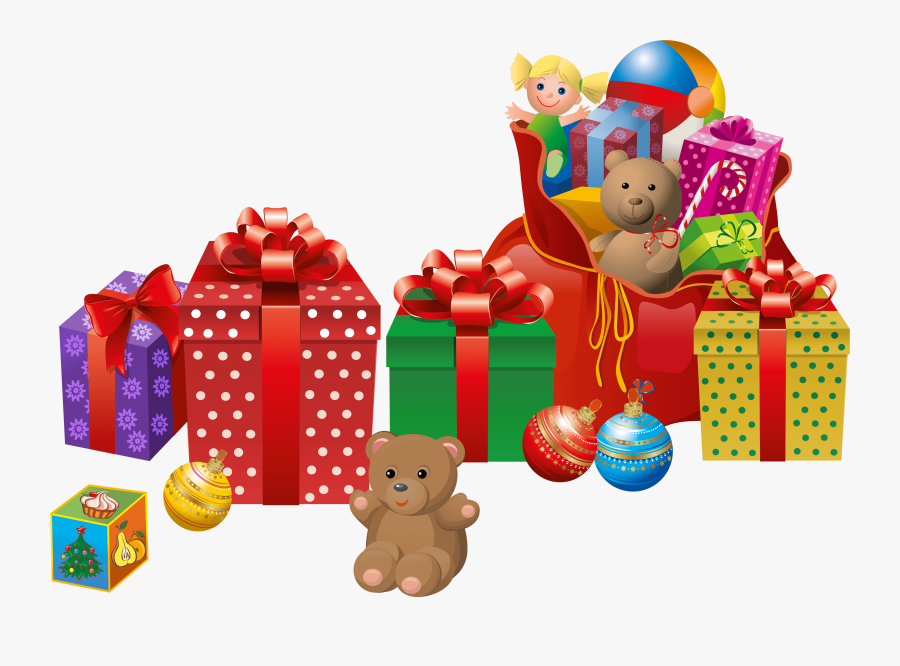 Transparent Pile Of Toys Clipart.