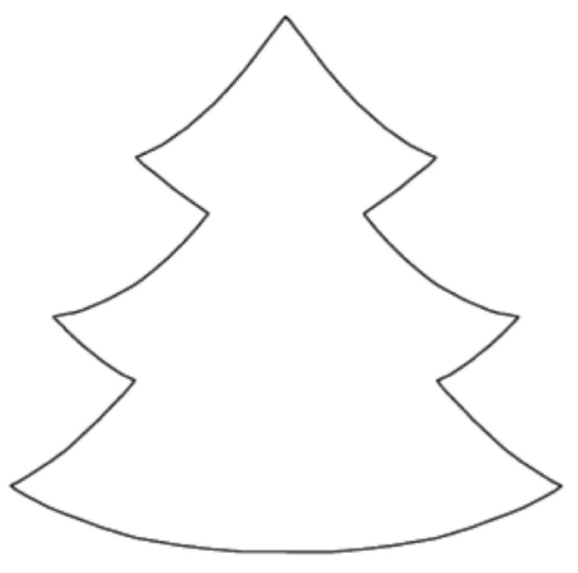 free clipart christmas tree outline 20 free Cliparts ...