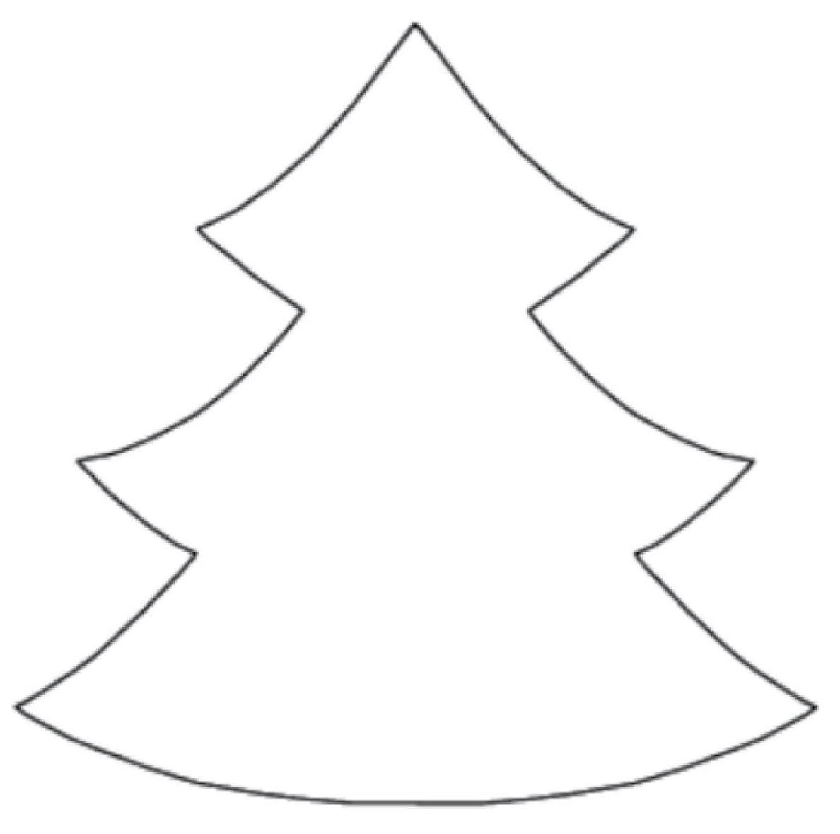 Tree Outline Printable.