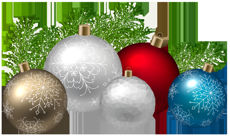 Christmas Decoration Transparent PNG Clip Art Image.
