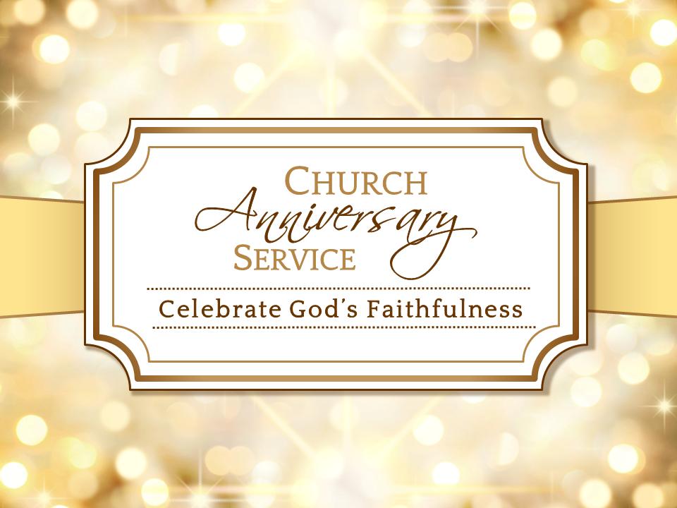 Free Church Anniversary Clipart Sheets 1777.