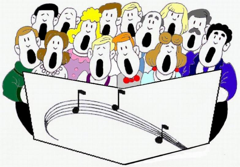 1720 Choir free clipart.