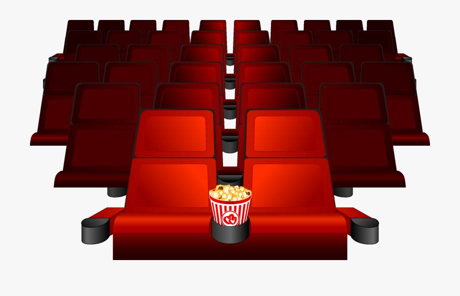 Clip Art Cinema Seat Chair Transprent.